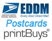 Print Every Door Direct Mail (EDDM) Postcards