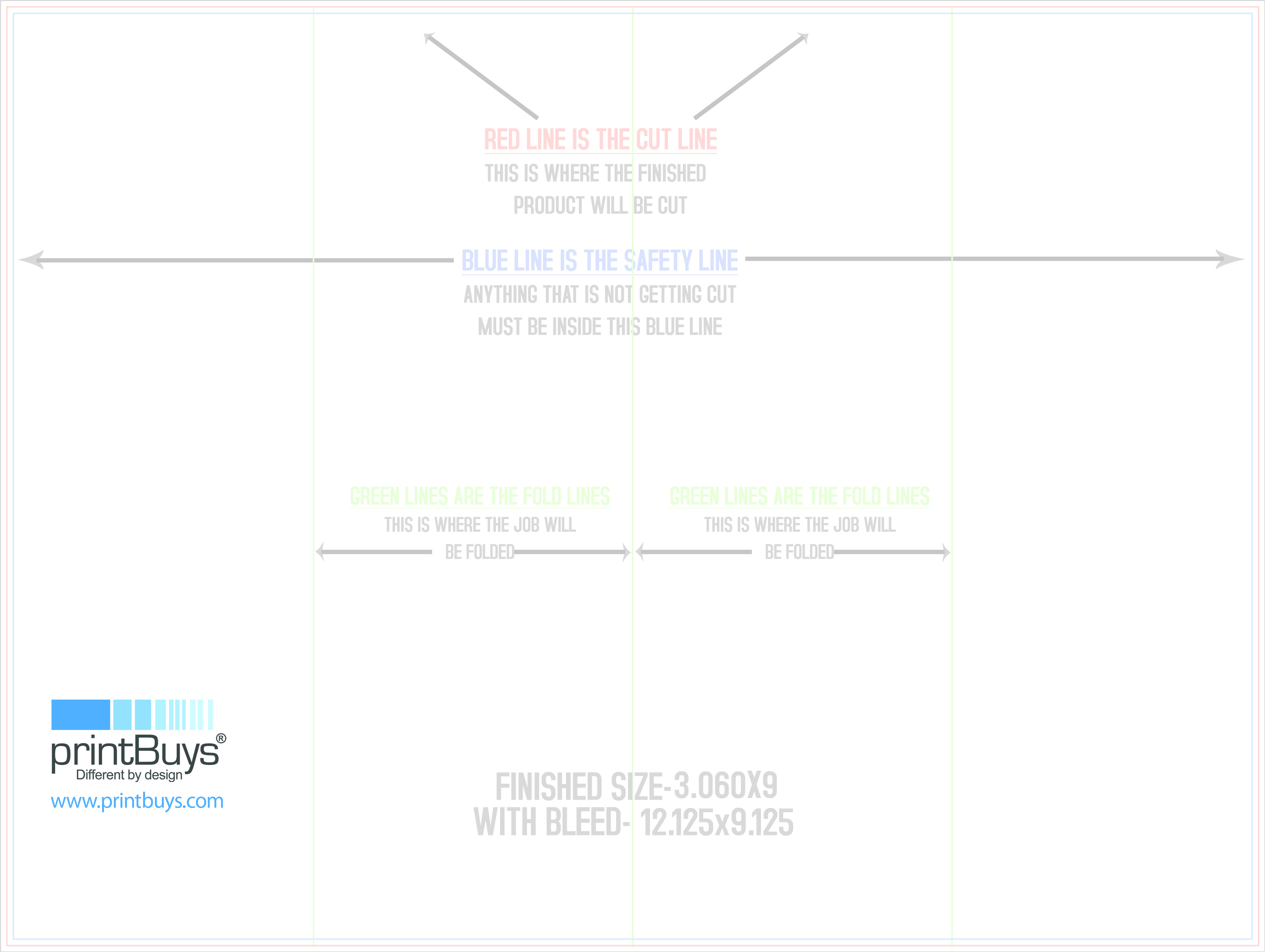 brochure template 9 x 12 double gate fold download